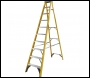 Youngman 52745018 S400 GRP Trade Stepladder 10 Tread