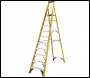 Youngman 52746001 S400 GRP Trade Platform Stepladder 10 Tread