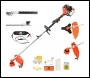 P1PE P5200MT 52cc Petrol Garden Multi-Tool inc Easy Recoil Start, Easy Feed Trimmer Head + 1m Extension