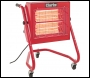 Clarke Devil 370SPB Quartz Halogen Infra-red Heater (230V)