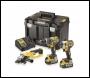 DeWalt DCK383P2T 18V Combi/Impact/Grinder Triple Pack 18v 2x5ah batteries