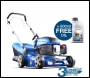 Hyundai HYM430SP 3 in 1 Petrol Powered Self-Propelled Rotary Lawnmower (inc free SAE30 Lawnmower Oil)