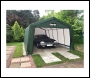 Clarke CIG81020 Heavy Duty Instant Garage - Green (6.1 x 3.0 x 2.4m)
