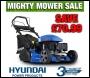 Hyundai HYM510SPER Self Propelled Electric Push Button Start 173cc 4 in 1 Petrol Roller Lawn Mower