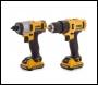 Dewalt DCK218D2T 10.8V Li-ion XR Cordless Combi-Drill and Impact Driver Twinpack (2 x 2.0Ah Batteries) - T-Stak Kitbox
