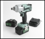 "Kielder KWT-012-51 ½"" Drive 18V Brushless Impact Wrench & 2 x 4Ah Batteries"