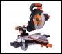 Evolution R255SMS 255mm TCT Multi-Material Cutting Sliding Mitre Saw 110v/240v