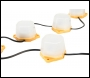 Lumer 22m LED Enclosed Festoon Kit 110v – Code LM05900 (New Brighter Version)
