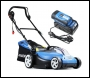 Hyundai HYM60LI420 60V Lithium Ion Cordless Battery Powered 420mm Roller Lawn Mower With Battery & Charger - 3 year warranty