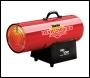 Clarke Devil 2100DV Dual Voltage 110/230v Gas Heater