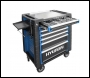 Hyundai HY292 291 Piece 7 Drawer Castor Mounted Roller Tool Chest Cabinet