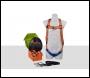 Aresta AK-M01 Restraint Kit (MEWP KIT 1) Single Point, Standard Black Harness, Adjustable Lanyard in a Pump Bag
