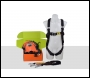 ARESTA AK-S06E Fall Arrest Kit (Scaffold Kit 6E) - Double Point - Elasticated EEZE KLICK SYSTEM harness, 2m Single  Lanyard in a back pack