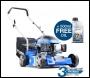 Hyundai HYM400P-4 79cc / 400mm Push Rotary Petrol Lawn Mower (inc free SAE30 Lawnmower Oil)