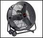 VOSE 30 inch  High Velocity Drum/Barrel Fan 110v - Code VS0670