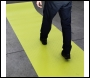 YELLOW HI-VIS PVC ANTI SLIP MATTING 'For Safe Walkways' 10M X 1M X 2MM