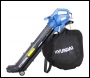 Hyundai HYBV3000E 3-in-1 Electric Garden Vacuum, Leafblower & Mulcher
