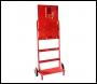 Evacuator Double Extinguisher Trolley inc Alarm - FMCTR1PB