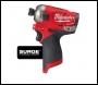 Milwaukee M12 FUEL™ SURGE™ ¼″ Hex Hydraulic Impact Driver - M12 FQID-202X