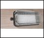 LUMER IP65 10w LED Bulkhead Unwired 110v - Clear or Red