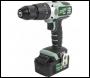 Kielder KWT-001-19 Drill Driver 18v Two Batt 4.0Ah 230v